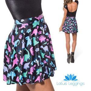 🦖 Lotus Leggings Dinosaur Skater Skirt